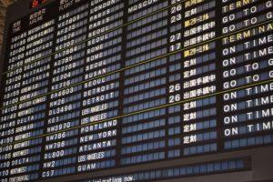 航空機遅延や荷物の遅延、様ざまなことに補償と相談が可能です。