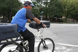 自転車で仕事中は補償しません