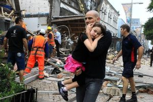 クライストチャーチでの大地震では、多数の日本人が犠牲になりました。