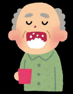 口はあまりゆすぎ過ぎると薬用成分が流れてしまいます。