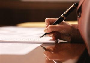 もし受取人指定や変更の手続きが出来なくても、遺言による執行も可能です。
