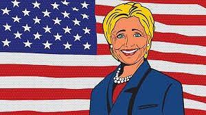 ヒラリー・クリントンが国民皆保険を提案していた。