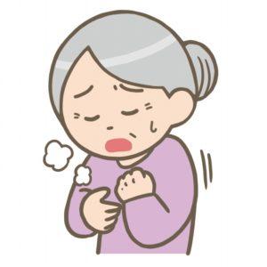 肺年齢が老けていると、咳が止まらなかったり喘息になるリスクがあります。