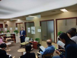 日系クリニックのドクターや職員と勉強会を実施。