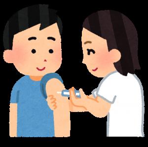 海外への長期渡航時には、必ず予防接種を受けて下さい。