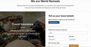 ワールドノマドは、世界中どこからでもネットで加入が可能です。